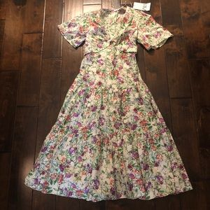 NWT Zara Floral Dress